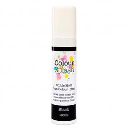 Pintura Comestible en Spray Color Negro 100ml