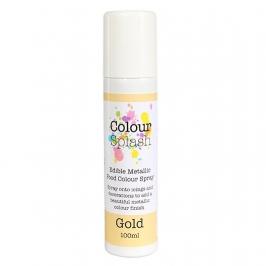 Pintura comestible en spray color oro 400ml