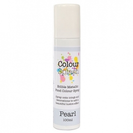Pintura comestible en spray color perlado 100ml