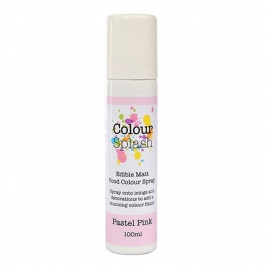 Pintura comestible en spray color Rosa Pastel 100ml