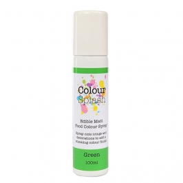 Pintura comestible en spray color verde mate 100ml