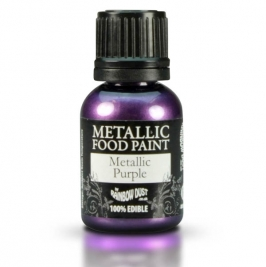 Pintura comestible metallic purple