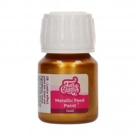 Pintura Comestible Oro Metalizado 30 ml