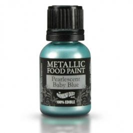 Pintura comestible perlada Metallic Baby Blue