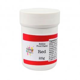 Pintura Comestible Roja 25 gr