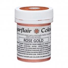 Pintura para Chocolate Oro Rosado
