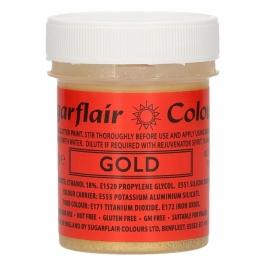 Pintura Comestible Oro Brillante 35 gr - Sugarflair