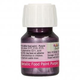 Pintura Comestible Violeta Metalizado 30 ml