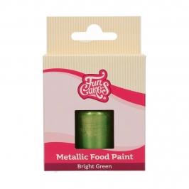 Pintura Comestible Verde Brillante Metalizado 30 ml