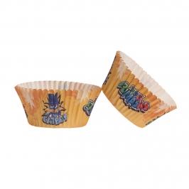 Cápsulas para Cupcakes Pj Masks 25 Unidades