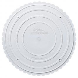 Plato separador de tartas borde de conchas 28 cm