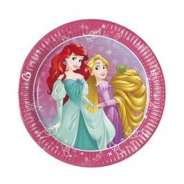Platos de Papel Princesas Disney Daydream 19 cm 8 ud
