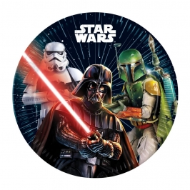 Platos de papel Star Wars