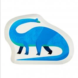Platos Fiesta Dinosaurios 27 cm 12 Ud