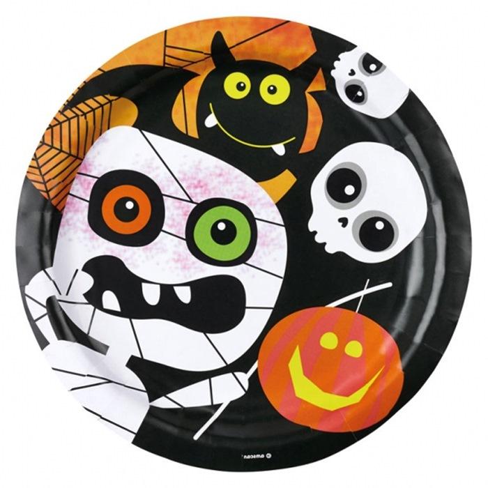 Platos Momia Halloween