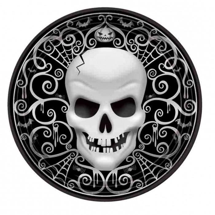Platos Noche de Miedo Halloween