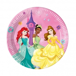 Platos Princesas Disney Dare to Dream 19cm