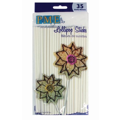 Pack de 35 Palitos para Cakepops 15cm PME