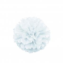 Pompón Blanco 40 cm