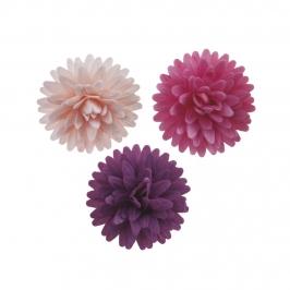 Pompones de Oblea Surtidos 4,5 cm 12 ud