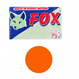 Porcelana fría color naranja 90 gr