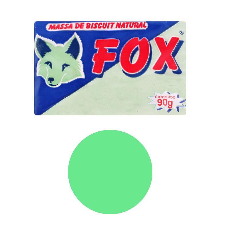 Porcelana fría color verde hoja 90 gr