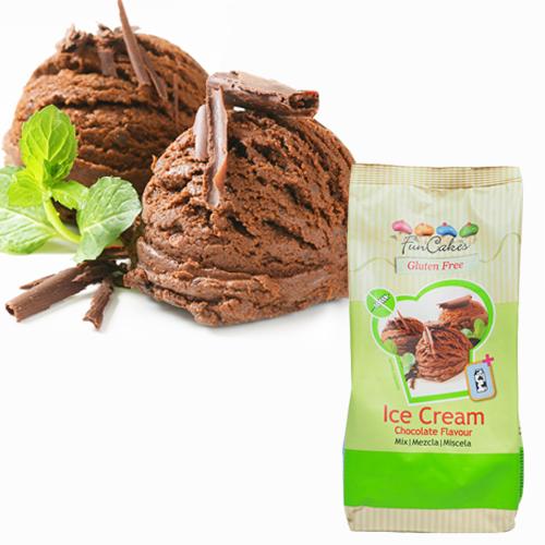 Preparado para helados sabor chocolate 400 gr