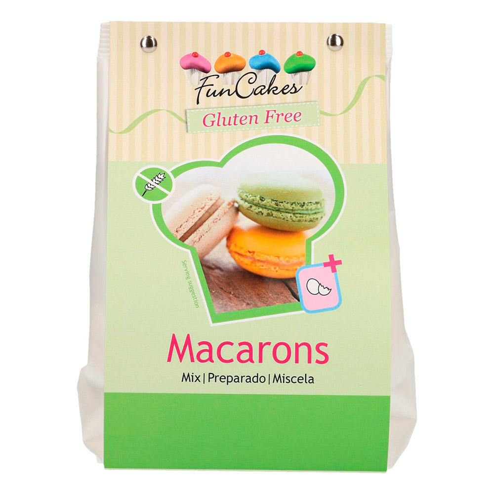 Preparado para Macarons Funcakes