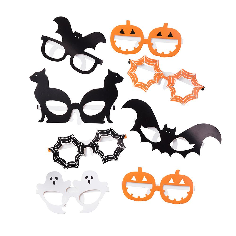 Juego de 8 Gafas Halloween