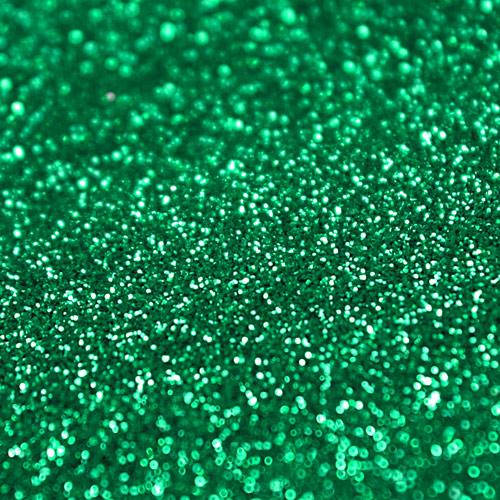 Purpurina Decorativa Verde No Comestible