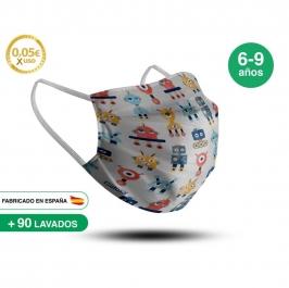 Mascarilla Reutilizable de Tela - Infantil Modelo 15