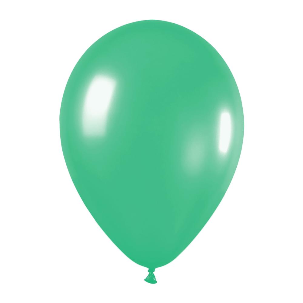 Pack de 10 Globos Verde Mate 30 cm