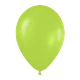 Pack de 12 Globos Verde Neón 30 cm