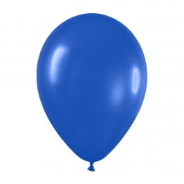 Pack de 12 Globos Azul Real Mate 30 cm