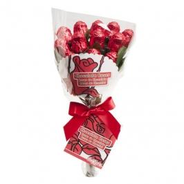 Ramo docena de Rosas de Chocolate