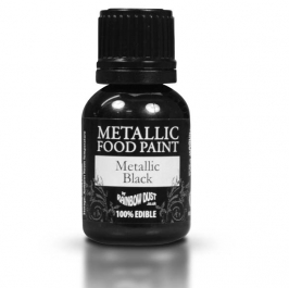 Pintura Comestible Metallic Black