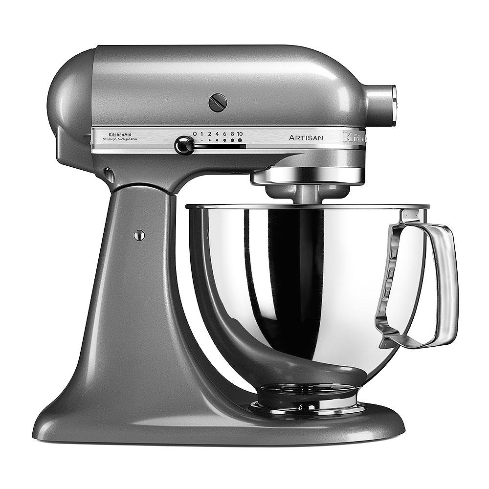 Robot de Cocina KitchenAid Artisan Silver Oscuro 5KSM175