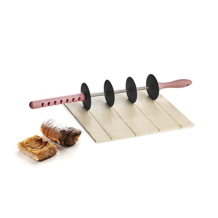 Rodillo 4 cuchillas ajustable