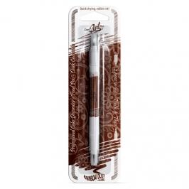 Rotulador Comestible Doble Punta Chocolate Oscuro