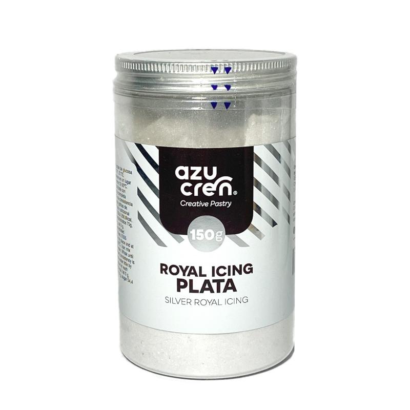 Preparado para Royal Icing Plata 150 gr