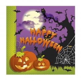 Servilletas de Papel Happy Halloween 20 ud