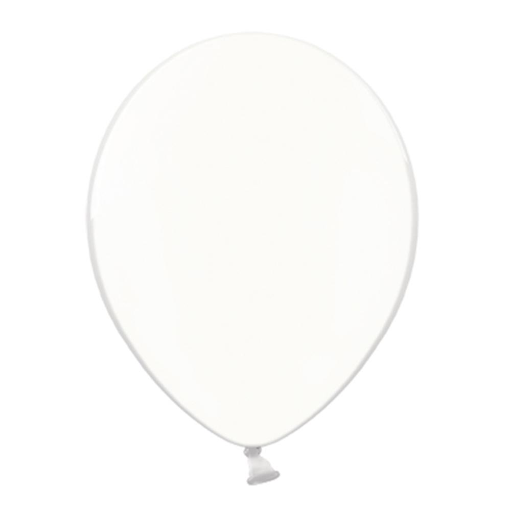 Set 100 Globos de Látex Cristal Transparente 30 cm
