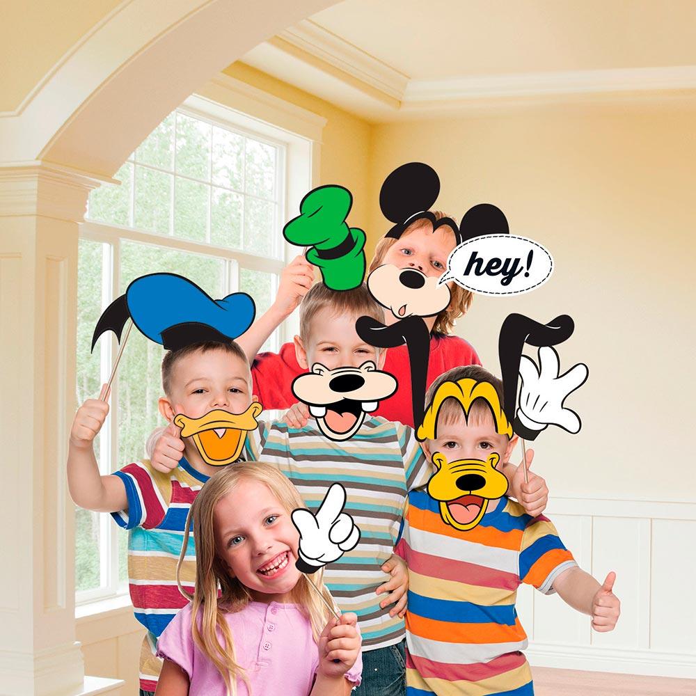 Set 12 Accesorios Photocall Mickey Mouse