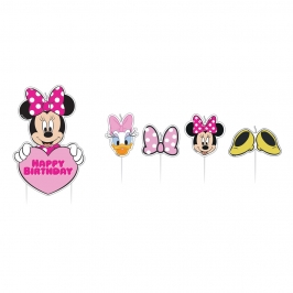 Set 17 Velas Minnie Mouse