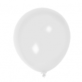 Set 2 globos Blancos 50cm