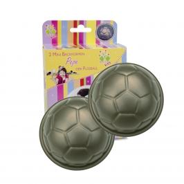 Set de 2 moldes para balón de fútbol