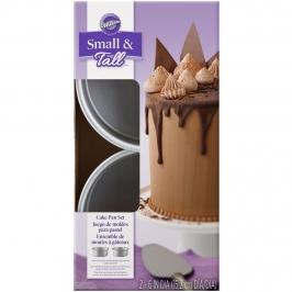 Set 2 Moldes Layer Cake 15 cm x 5 cm