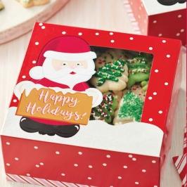 Set 3 Cajas para Cookies Santa