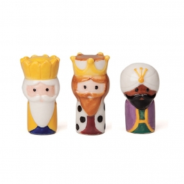 Set 3 Reyes Magos para Roscón de Reyes Lujo