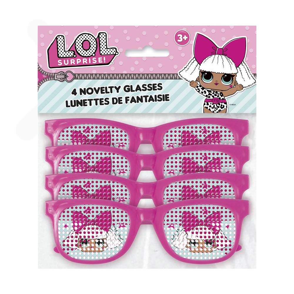 Set 4 Gafas LOL Surprise